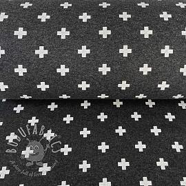 Cuff Cross dark grey