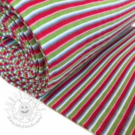 Cuff Stripe multicolour fuchsia lime