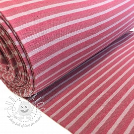 Cuff Stripe shaded old pink