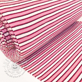 Cuff Stripe variable pink white