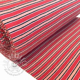 Cuff Stripe variable red peach