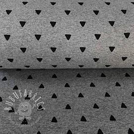 Cuff Triangle BIG light grey