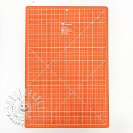 Cutting mat cm/inch divisions PRYM 30 x 45 cm orange