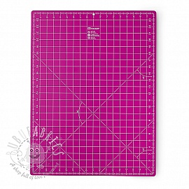 Cutting mat cm/inch divisions PRYM 45 x 60 cm pink