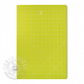 Cutting mat cm/inch divisions PRYM 60 x 90 cm light green