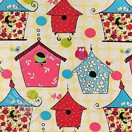 Decoration fabric Birdhouse 2nd class
