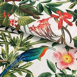 Decoration fabric Borabora blanc