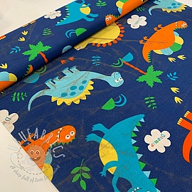 Decoration fabric Dinosaurus 2nd class