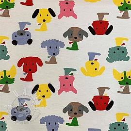 Decoration fabric Dog