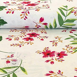 Decoration fabric Flowers