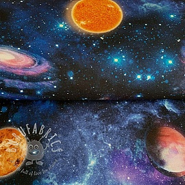 Decoration fabric Galaxy Future digital print
