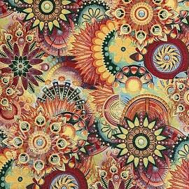 Decoration fabric GOBELIN Artistic mandala