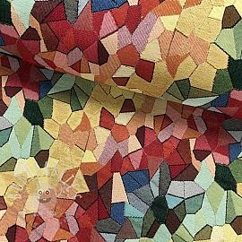Decoration fabric GOBELIN Artistic mosaic