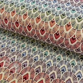Decoration fabric GOBELIN Bow Parade cream