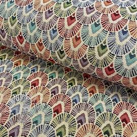 Decoration fabric GOBELIN Unity Parade cream