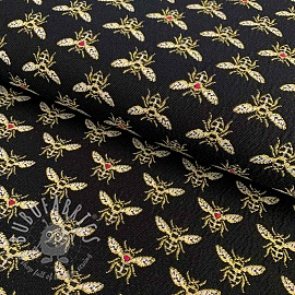 Decoration fabric jacquard Bees