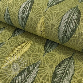 Decoration fabric jacquard Botanical