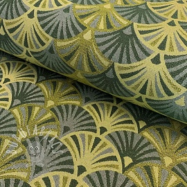 Decoration fabric jacquard Botanical woven