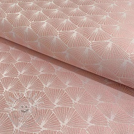 Decoration fabric jacquard Corea allover rose