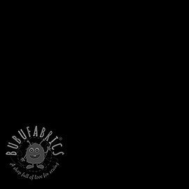 Decoration fabric Linenlook Fish vintage