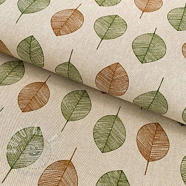 Decoration fabric Linenlook Scandinavian