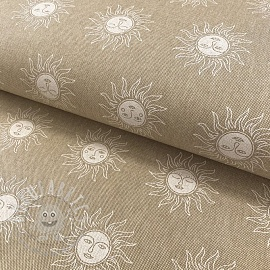 Decoration fabric Linenlook Spiritual