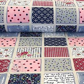 Decoration fabric Patchwork