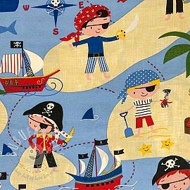 Decoration fabric Pirate