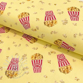 Decoration fabric Popcorn party premium