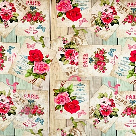 Decoration fabric Romantic Paris