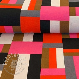 Decoration fabric Squares