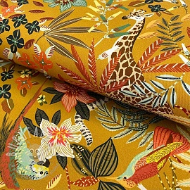Decoration fabric Zanzibar safran