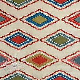 Decoration fabric ZigZag horizontal