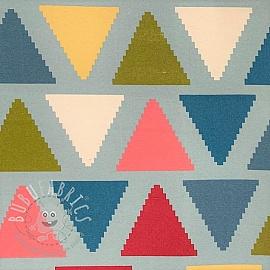 Decoration fabric Zigzag triangle