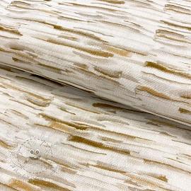 Double gauze/muslin smooth Stripes