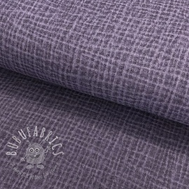 Double gauze/muslin Snoozy fabrics Dirty wash lavender