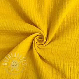 Double gauze/muslin yellow