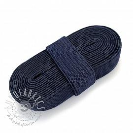Elastic 15 mm dark blue 2 m Bundle
