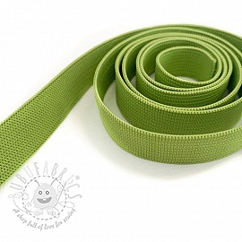 Elastic 15 mm dark lime