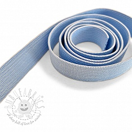 Elastic 15 mm light blue