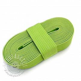 Elastic 15 mm light lime 2 m Bundle