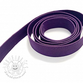 Elastic 15 mm purple