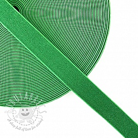 Elastic 2,5 cm glitter neon green