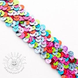 Elastic Sequins multicolor