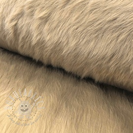 Faux fur LONG camel