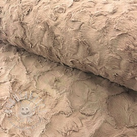 Faux fur sand