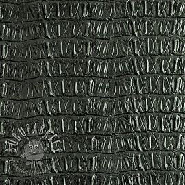 Faux leather CAIMAN vert