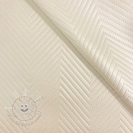 Faux leather Capiton blanc