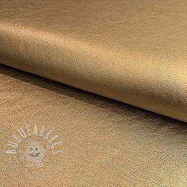 Faux leather copper