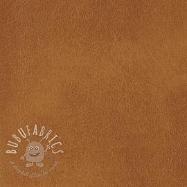 Faux leather CUIR fauve